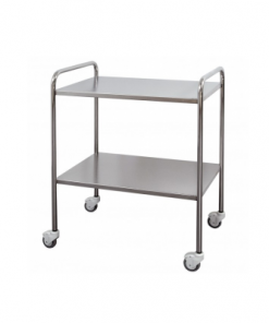 Dressing Trolley 80 x 50cm with Rails