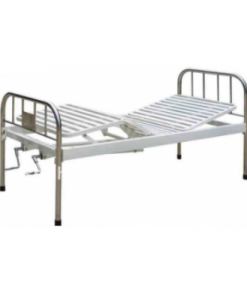Stainless steel double crank bed