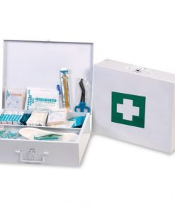 Government Regulation 7 First Aid Kit In Metal Box