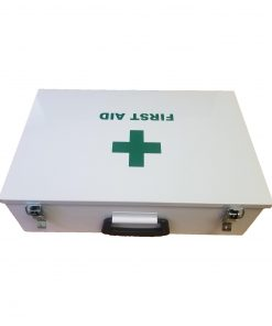 Government Regulation 3 First Aid Kit in Metal Box