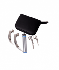 4 Blade Laryngoscope Set