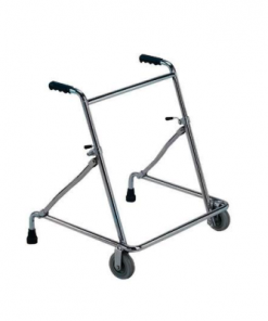Walking Frame - Rollator Front Wheels Folding
