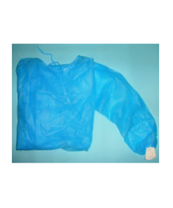 MOM - Gown PP Long Sleeve Blue 40g/m2