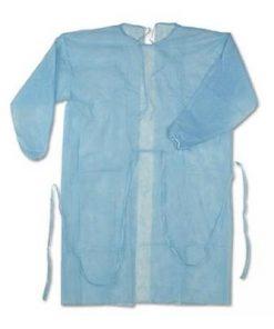 MOM - Gown PP Long Sleeve XXXL Blue 40g/m2
