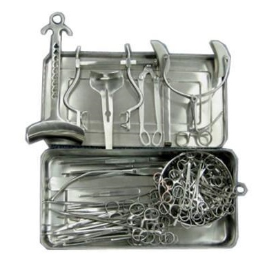 Abdominal Surgery Set - Surgical Instruments Basis