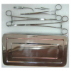 Surgical Vascular Clamps Set with tray