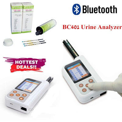 Handheld Urine Analyzer BC401-11 Parameters Testing