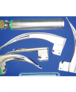 Laryngoscope Fibre Optic 4 Blade Set