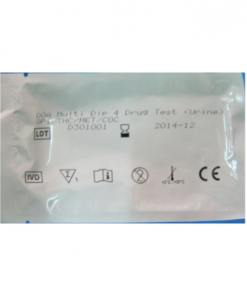 Drug Test Multi Pack 4 Panel Test Pack