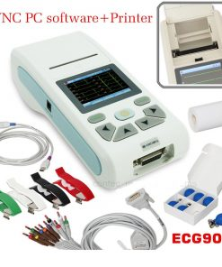 Handheld ECG CMS90A Machine with Printer
