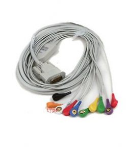 ECG Cable - 10 Lead - Button Type