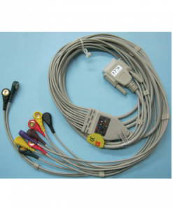 ECG Cable 10 Lead Button Type Carewell