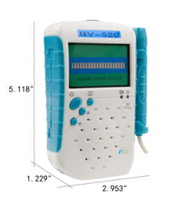 Ultrasound vascular doppler BV-520 With 8Mhz Probe LED display