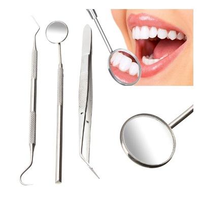 Stainless Steel Dental Mirror Kits
