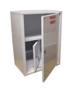 Wall Mount Drug Cabinet with S7 Facility