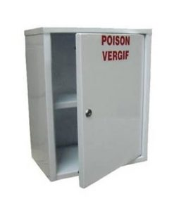 Small Poison Cabinet 46x37x24cm