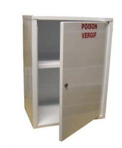 Large Poison Cabinet 60x45x30cm