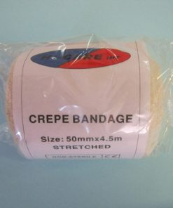 Bandage Crepe - 50mm Hi-Care 4.5m stretched