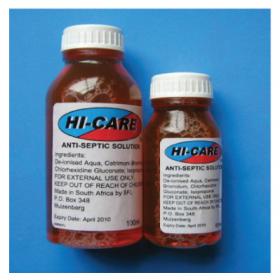 Antiseptic solution Hi Care 50ml