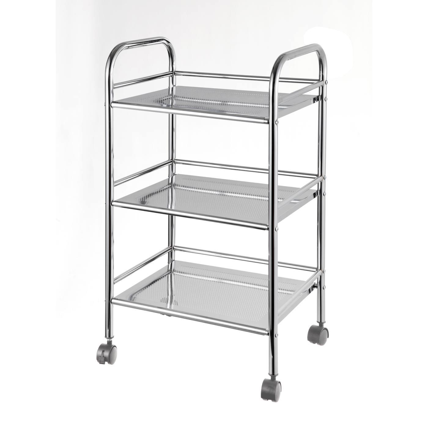 3 tier:food trolley 4x100mm
