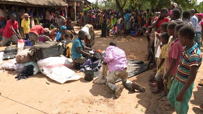 cyclone-stricken Mozambique