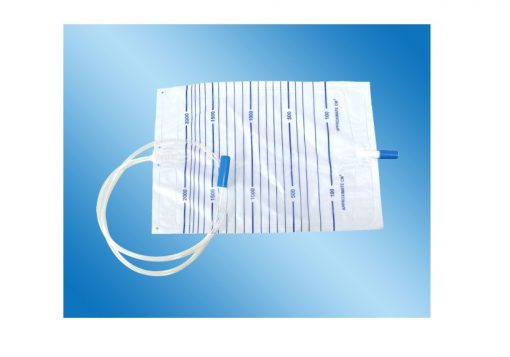 URINE BAG 2000ML ,with anti valve