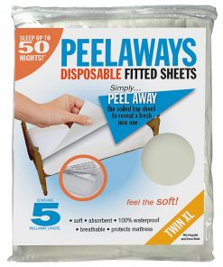 Peelaways Disposable Fitted Sheets