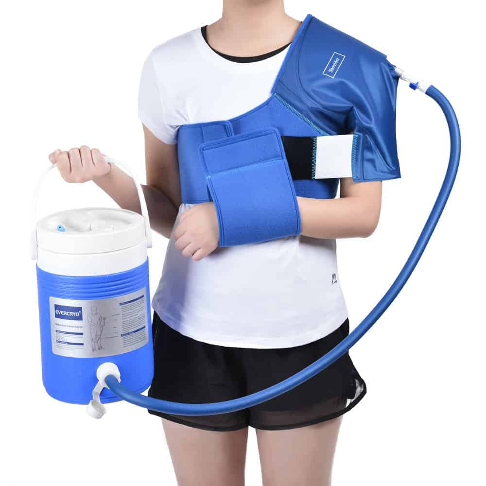 EVERCRYO Cryo Cuff Medical Cold & Hot Therapy System ... |Medical Ice Therapy Machine