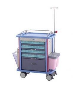 emergency medical trolley