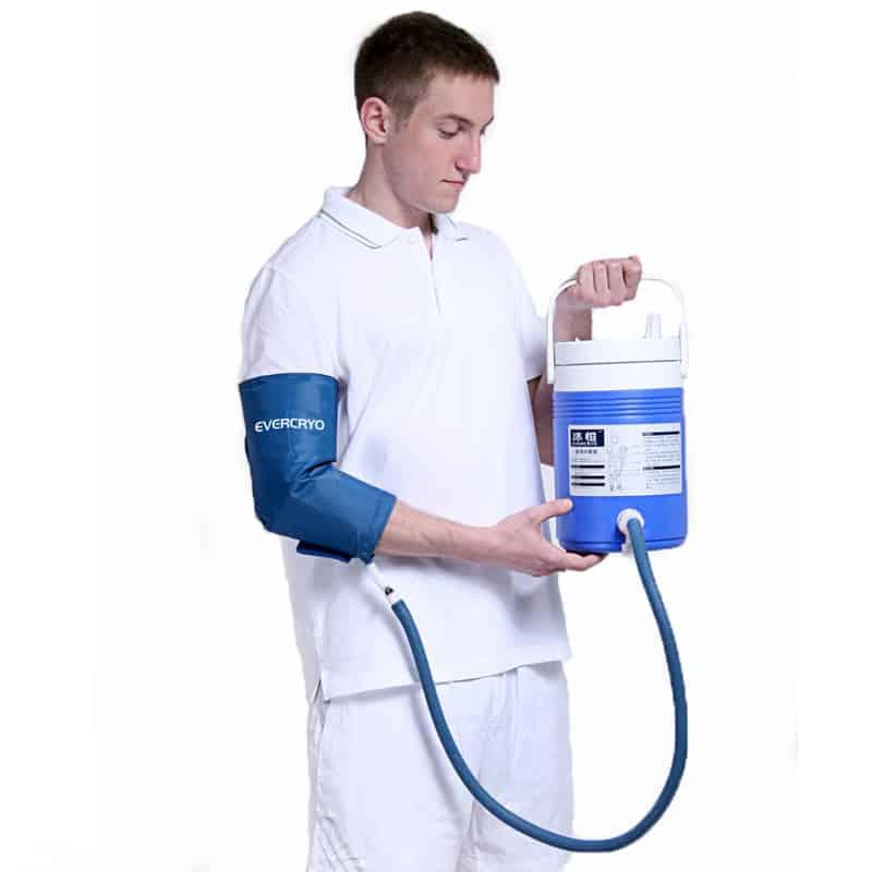 Amazon.com: Kit Cold Rush US w/ Knee Pad: Health ... |Medical Ice Therapy Machine