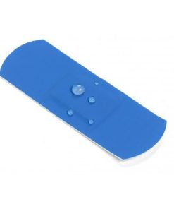 blue waterproof plaster