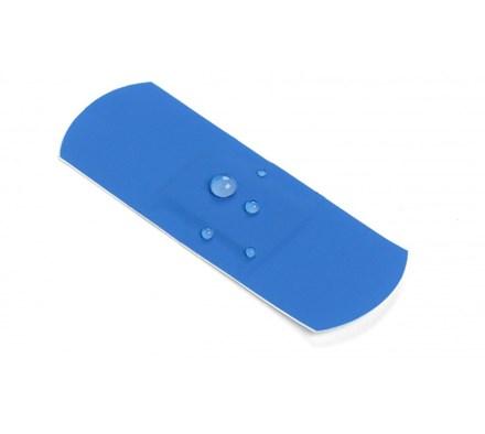 blue waterproof plaster