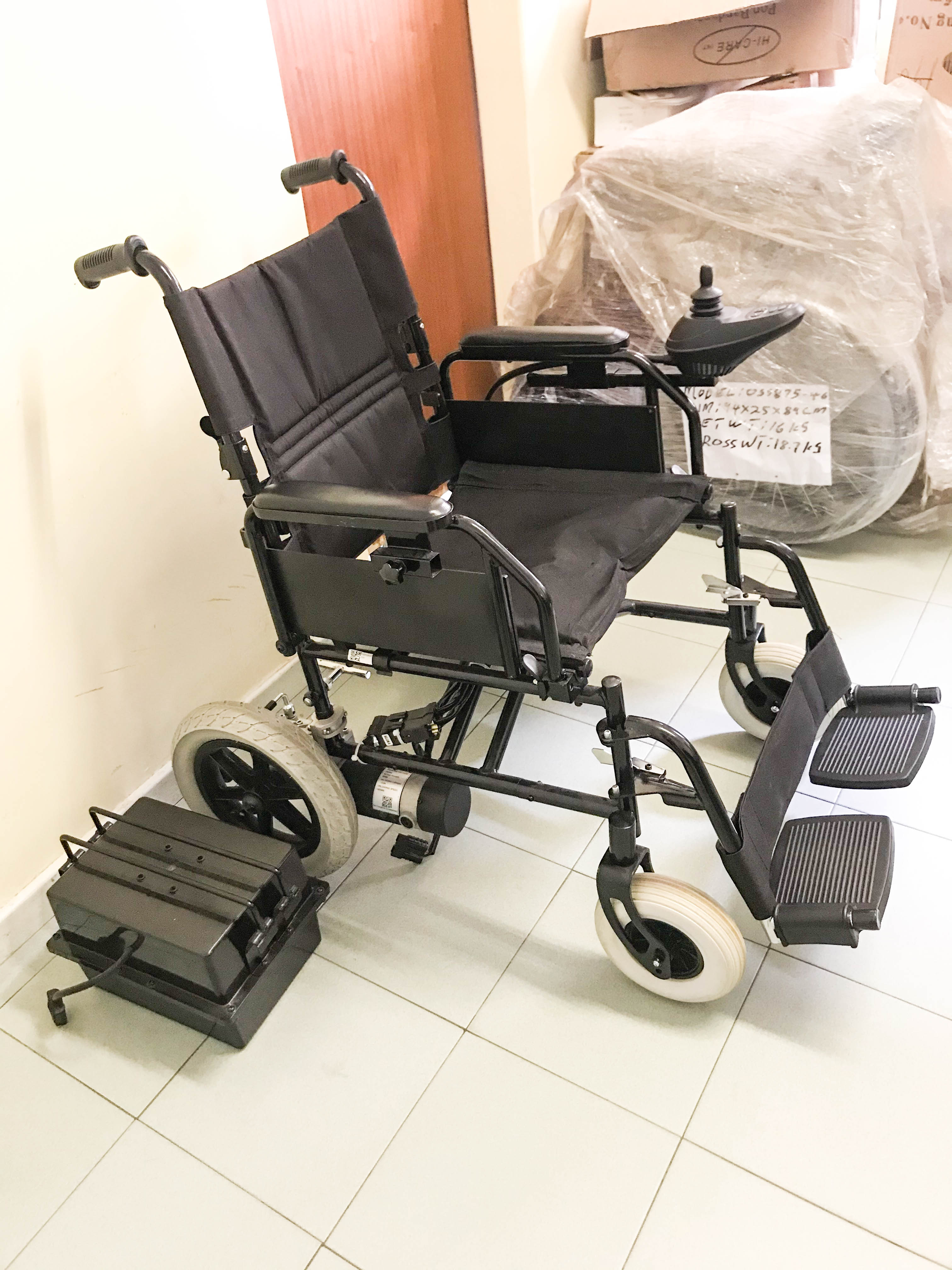 Second Hand - Motorised Electric Wheelchair FS112AF1